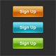 Sign Up buttons - GraphicRiver Item for Sale