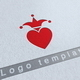 King Hearts Logo Template - GraphicRiver Item for Sale