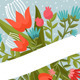Flowers With Ribbon - GraphicRiver Item for Sale
