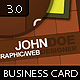 Squares Business Card 3.0 - GraphicRiver Item for Sale