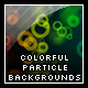 Colorful Particle Backgrounds - ActiveDen Item for Sale