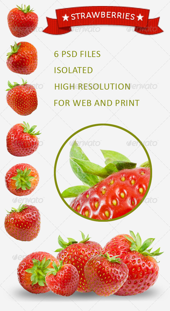 GraphicRiver Strawberry Pack 2555177