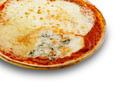 A  pizza quatro formggi on a white background - PhotoDune Item for Sale