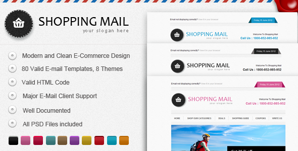 Shopping Mail  - Email Templates Marketing