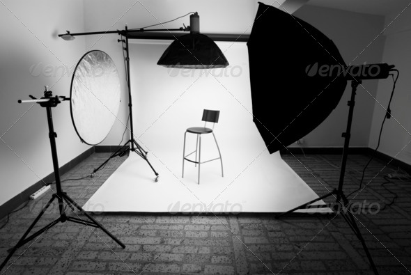 Photo studio - Stock Photo - Images
