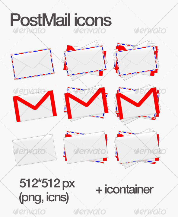 PostMail icons - Miscellaneous Icons