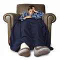 Sick child sitting in a big chair - PhotoDune Item for Sale