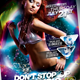Dont Stop The Music Flyer Template - GraphicRiver Item for Sale