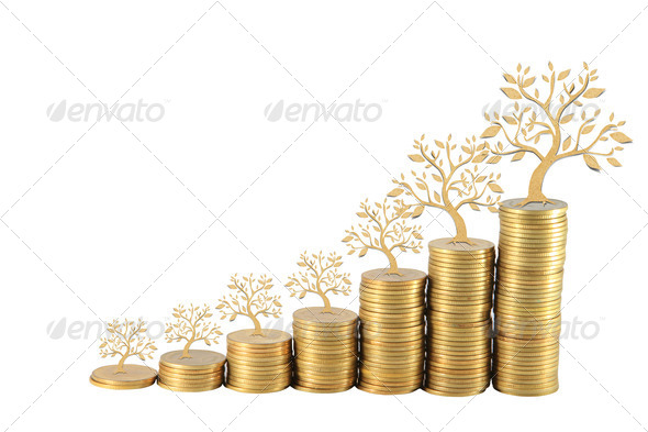 Increase your savings - Stock Photo - Images