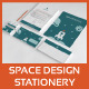 Space Design Stationery - GraphicRiver Item for Sale