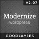 Modernize - Flexibility of Wordpress