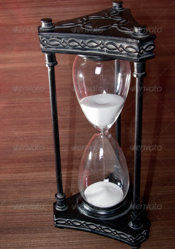 Hour Glass Sand Timer - Stock Photo - Images
