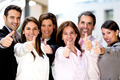 Business people with thumbs up - PhotoDune Item for Sale