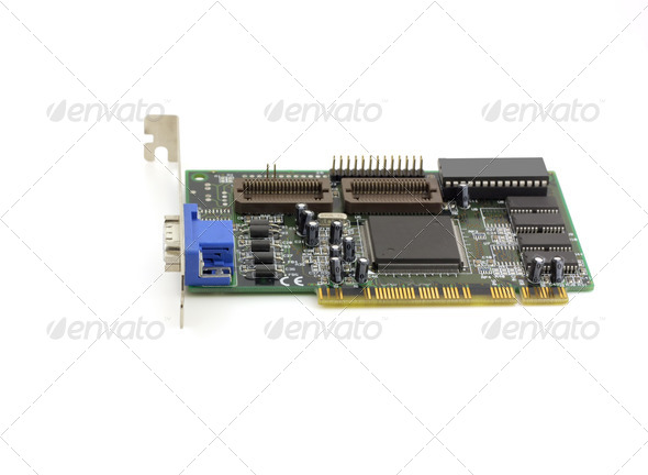 Old VGA adapter - Stock Photo - Images