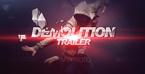 VideoHive Demolition Trailer 2567069