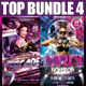 Top Party Flyer Bundle Vol4 - GraphicRiver Item for Sale