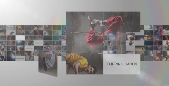 VideoHive Flipping Cards 2569533