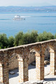 Roman ruins on Garda Lake in Sirmione, Italy - PhotoDune Item for Sale