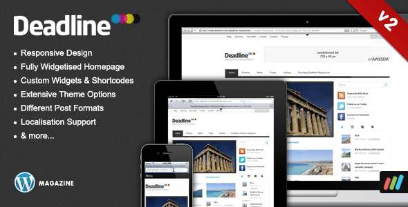 Deadline WordPress Theme