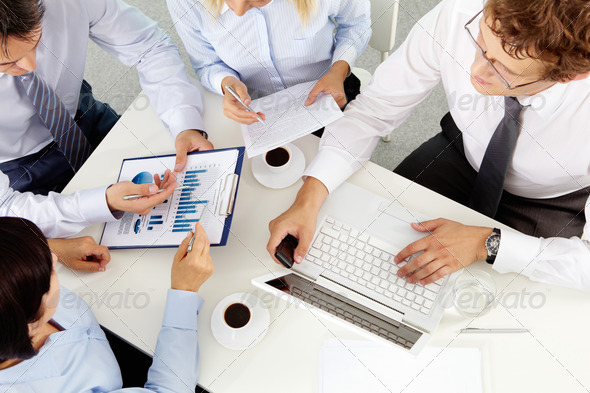 Office meeting - Stock Photo - Images