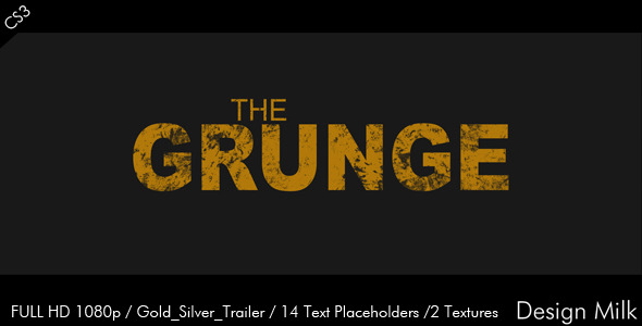 After Effects Project - VideoHive The Grunge 2570723