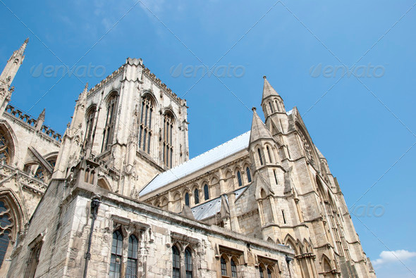 Minster South View - Stock Photo - Images
