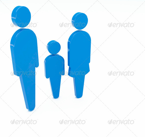 Family icon - Stock Photo - Images
