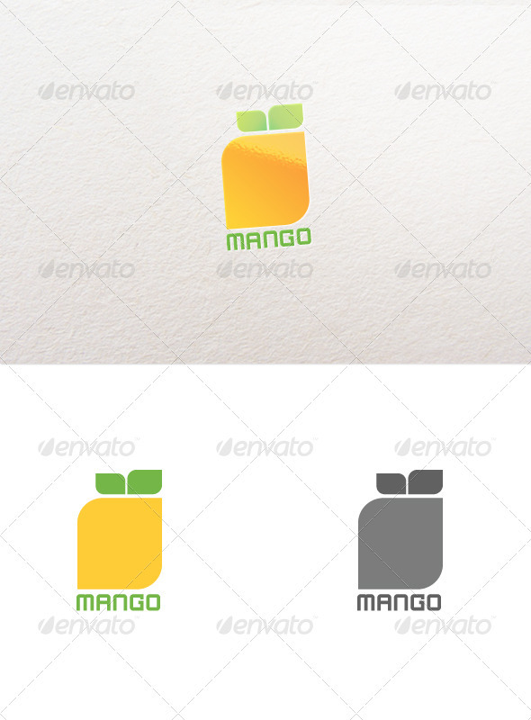 Abstract Mango Logo - Abstract Logo Templates