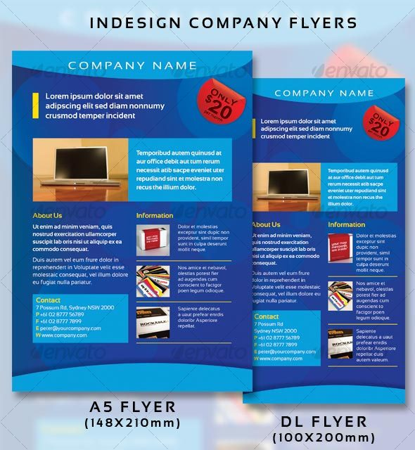 Company Flyers - Commerce Flyers