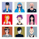 Urban Tribes Avatars Set - GraphicRiver Item for Sale