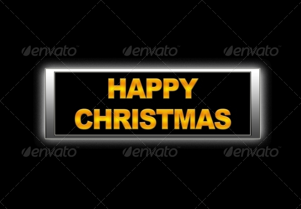 Happy christmas. - Stock Photo - Images