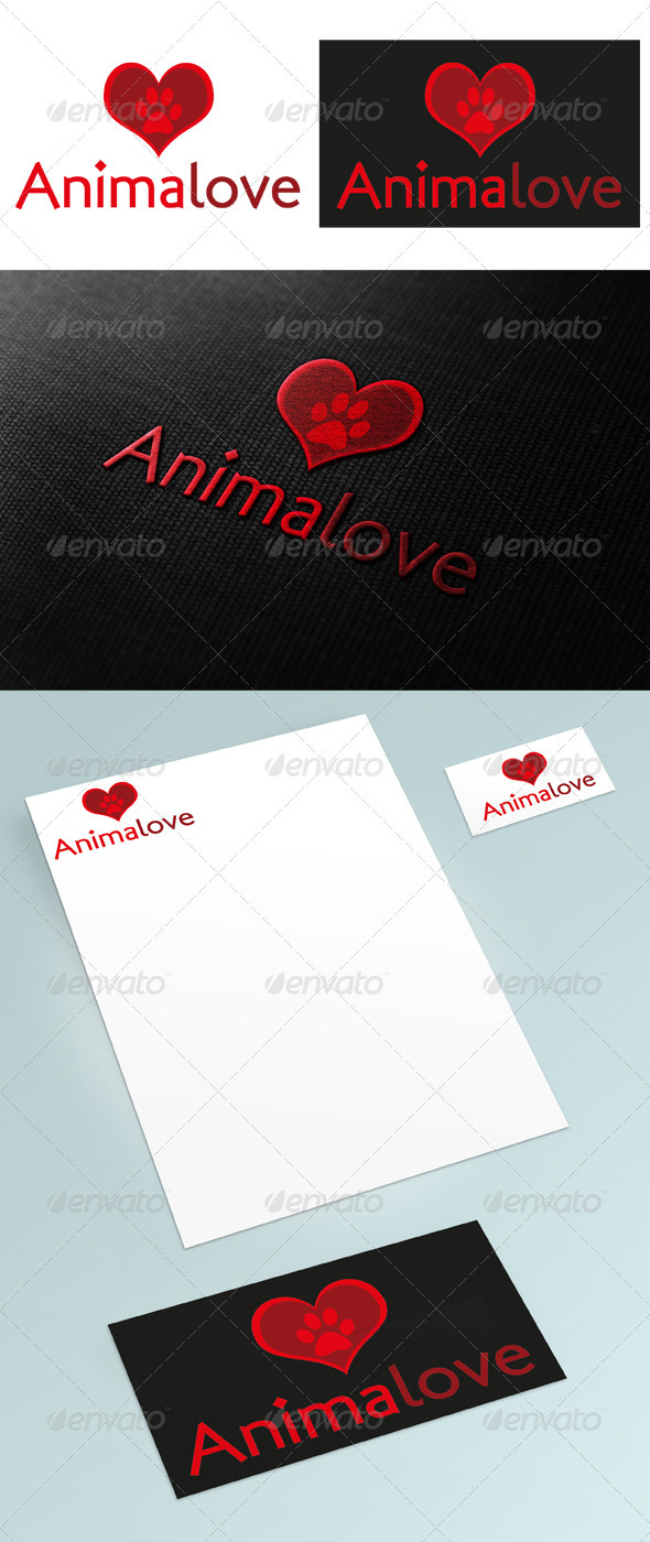 Animalove Logo - Animals Logo Templates