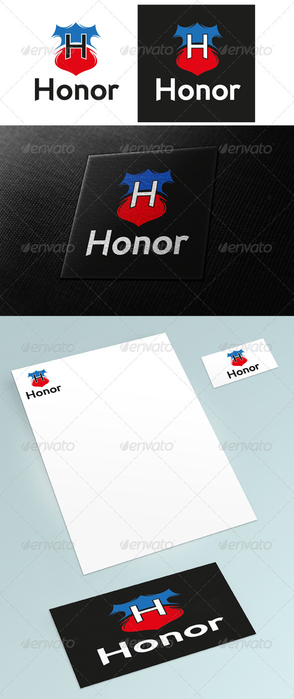 Honor Logo - Crests Logo Templates