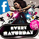Every Saturday Facebook Timeline Cover - GraphicRiver Item for Sale