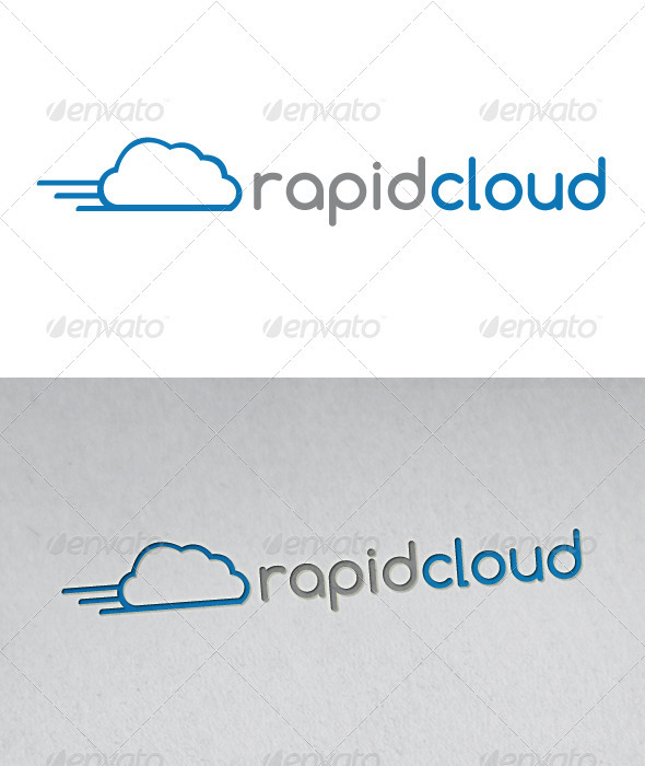 Rapid Cloud Logo - Objects Logo Templates
