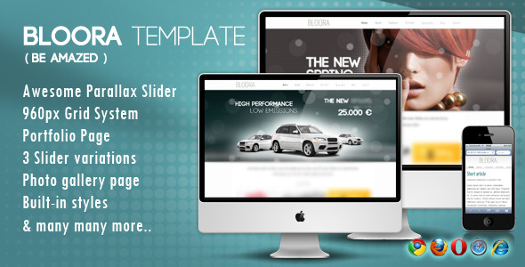 BLOORA TEMPLATE - HTML - BLOORA TEMPLATE