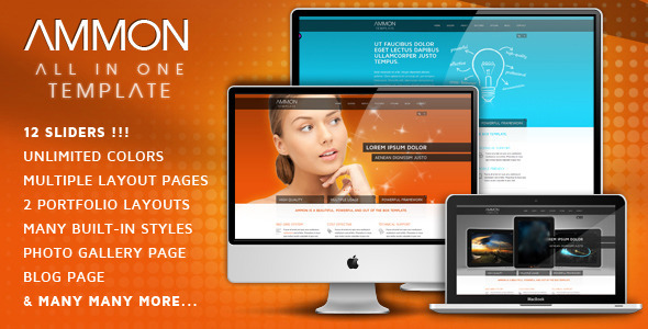 Ammon Template - Creative Site Templates