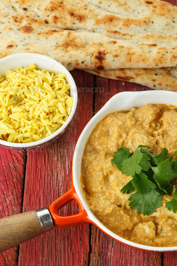 Indian Chicken Curry - Stock Photo - Images