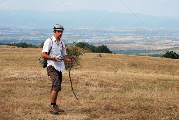 hiker - Stock Photo - Images