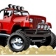 Vector Cartoon Jeep - GraphicRiver Item for Sale