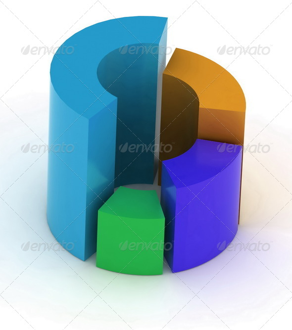 Circular Diagram - Stock Photo - Images