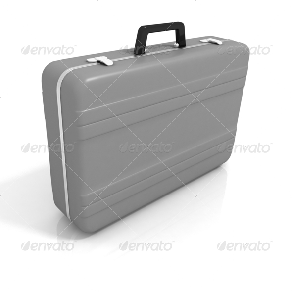 Business Briefcase isolated  - Stock Photo - Images