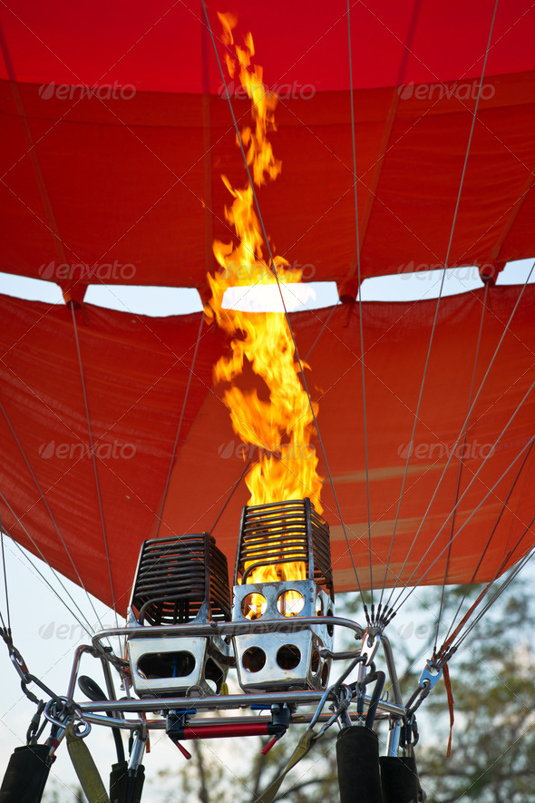 Aerostat starting - Stock Photo - Images
