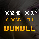 Magazine Mockup Classic View - Bundle - GraphicRiver Item for Sale