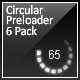 Circular Preloader 6 Pack - ActiveDen Item for Sale