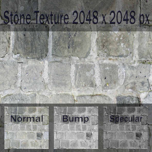 Stone Texture - 3DOcean Item for Sale