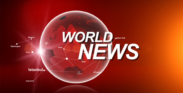 VideoHive World News Opener 2548593