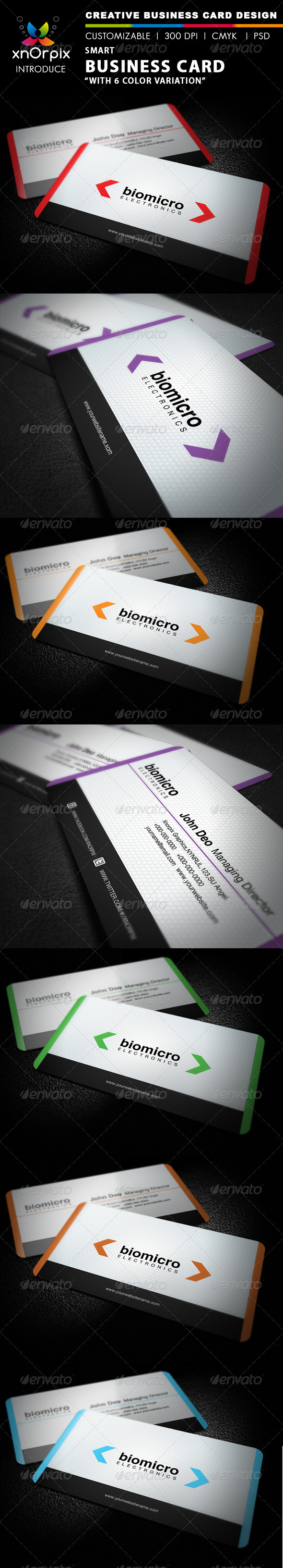 GraphicRiver Smart Business Card 2580182