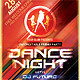 Dance Night Party Flyer Template - GraphicRiver Item for Sale
