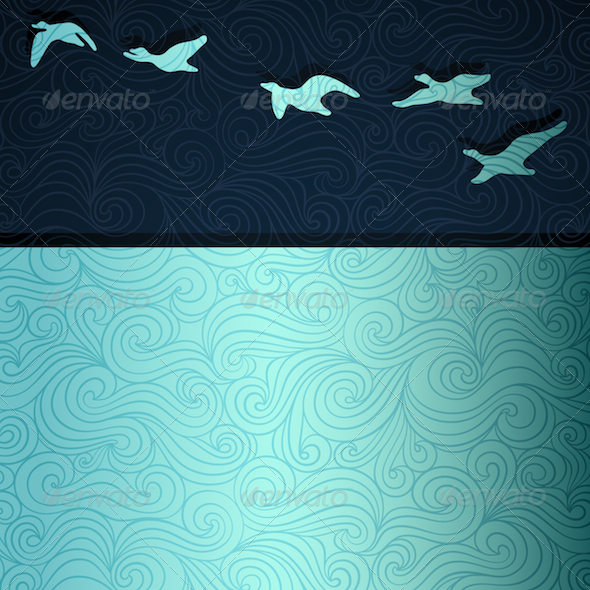 Flying Geese - Nature Conceptual